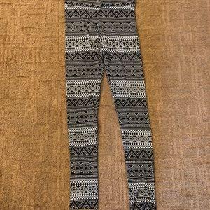 H&M Aztec Leggings